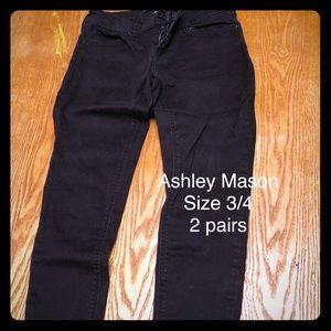 Comfy Skinny Black Pants